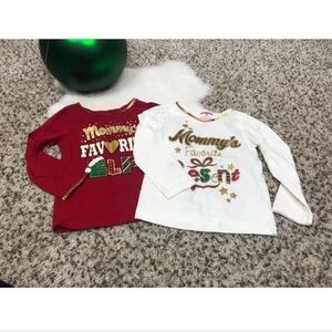 Holiday Time Baby Girl Christmas Top Sz 3T